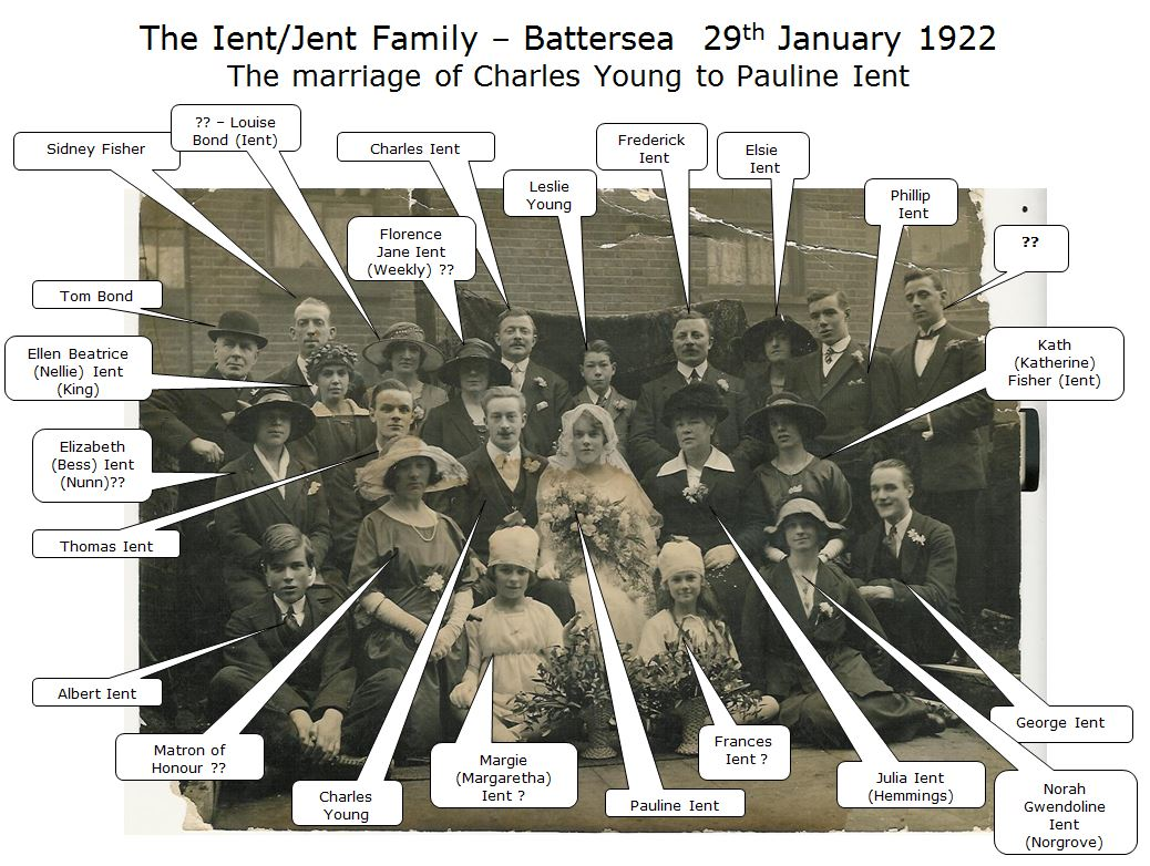 Ient family wedding 1922